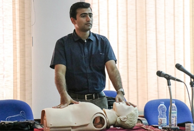 First Aid Responder Certification Training held for Designated Responders across the College