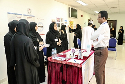 Principles of Sales Students conducted an exhibition named (A Day for My Society)
