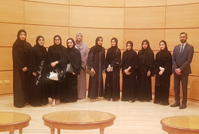 Visit to Sultan Qaboos University