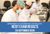 Pure Math and Applied Math Resit Exam Results (Date of Exam: 24th September 2020)