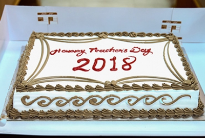 Teacher's Day 25th of February 2018 Business Studies Department (BS056)