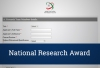 The National Research Award (NRA) Submission Announcement (Sixth Cycle/2019)