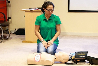 Selected APS Staff Attend First Aid Course